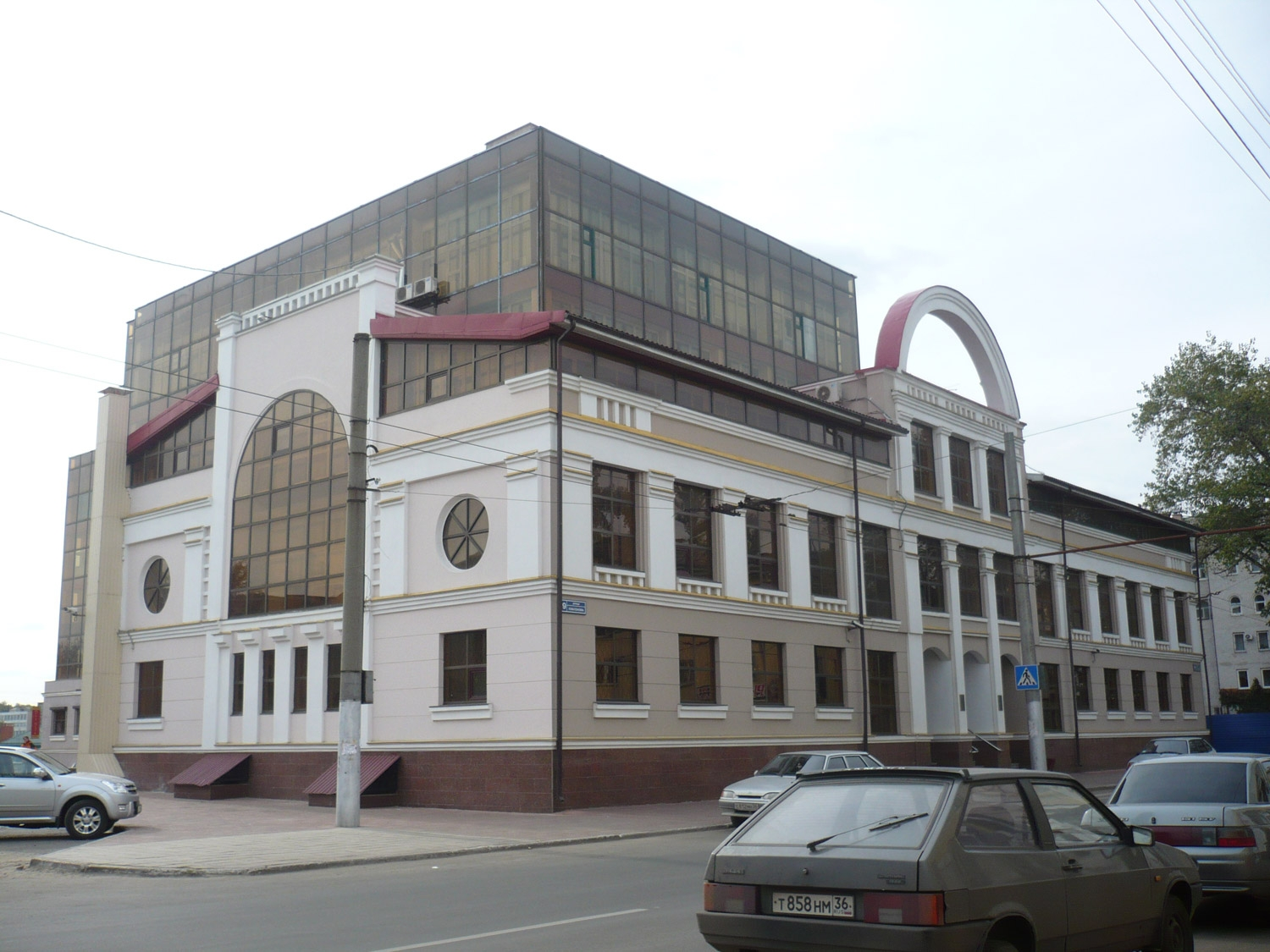 Business Centre Apex on Platonov street